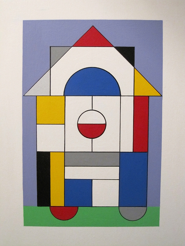 Bauhaus-40cmx30cm